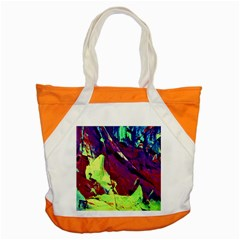 Abstract Painting Blue,Yellow,Red,Green Accent Tote Bag
