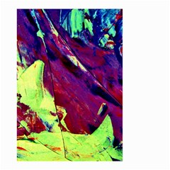 Abstract Painting Blue,Yellow,Red,Green Small Garden Flag (Two Sides)