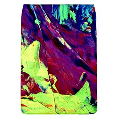 Abstract Painting Blue,Yellow,Red,Green Flap Covers (L)