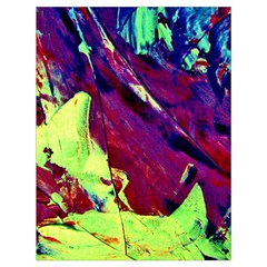 Abstract Painting Blue,yellow,red,green Drawstring Bag (large)