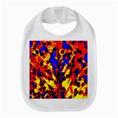 Fire Tree Pop Art Bib