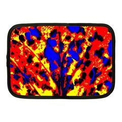 Fire Tree Pop Art Netbook Case (medium)