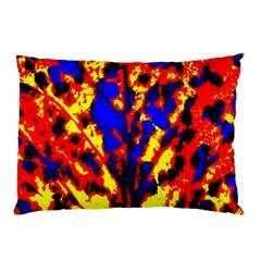 Fire Tree Pop Art Pillow Cases (two Sides)