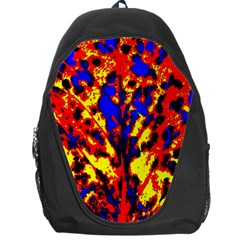 Fire Tree Pop Art Backpack Bag
