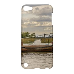 Fishing And Sailboats At Santa Lucia River In Montevideo Apple iPod Touch 5 Hardshell Case