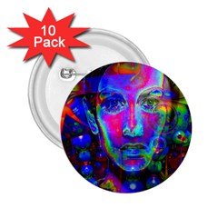 Night Dancer 2.25  Buttons (10 pack)