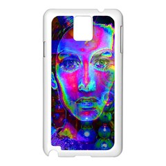 Night Dancer Samsung Galaxy Note 3 N9005 Case (White)