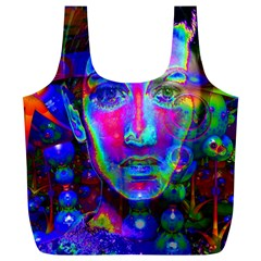 Night Dancer Full Print Recycle Bags (L)