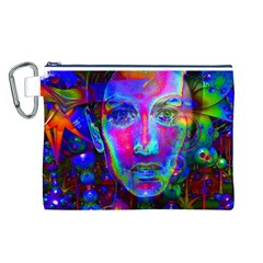 Night Dancer Canvas Cosmetic Bag (L)