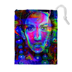 Night Dancer Drawstring Pouches (Extra Large)