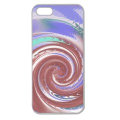 Whirlwind Apple Seamless iPhone 5 Case (Clear)