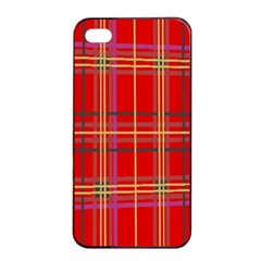 Plaid Apple iPhone 4/4s Seamless Case (Black)