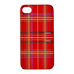 Plaid Apple iPhone 4/4S Hardshell Case with Stand