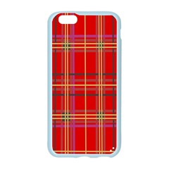 Plaid Apple Seamless iPhone 6/6S Case (Color)