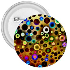 Colourful Circles Pattern 3  Buttons
