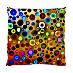 Colourful Circles Pattern Standard Cushion Cases (two Sides)
