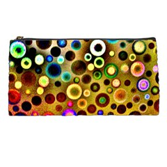 Colourful Circles Pattern Pencil Cases