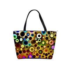 Colourful Circles Pattern Shoulder Handbags