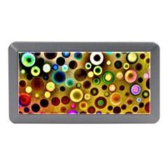 Colourful Circles Pattern Memory Card Reader (mini)