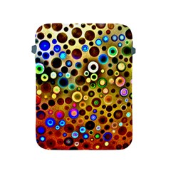 Colourful Circles Pattern Apple iPad 2/3/4 Protective Soft Cases