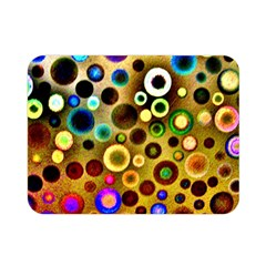 Colourful Circles Pattern Double Sided Flano Blanket (Mini)