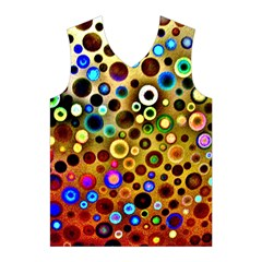 Colourful Circles Pattern Men s Basketball Tank Top
