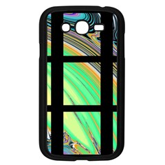Black Window with Colorful Tiles Samsung Galaxy Grand DUOS I9082 Case (Black)