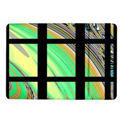 Black Window with Colorful Tiles Samsung Galaxy Tab Pro 10.1  Flip Case
