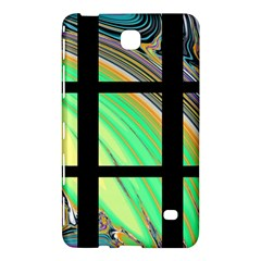 Black Window With Colorful Tiles Samsung Galaxy Tab 4 (8 ) Hardshell Case