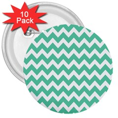 Chevron Pattern Gifts 3  Buttons (10 Pack)