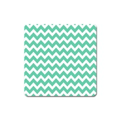 Chevron Pattern Gifts Square Magnet