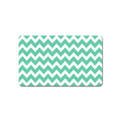 Chevron Pattern Gifts Magnet (name Card)
