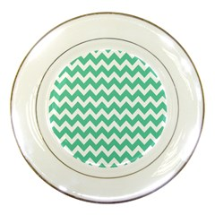 Chevron Pattern Gifts Porcelain Plates