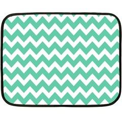 Chevron Pattern Gifts Double Sided Fleece Blanket (mini)