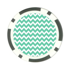 Chevron Pattern Gifts Poker Chip Card Guards (10 pack)
