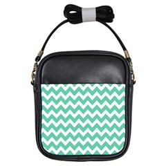 Chevron Pattern Gifts Girls Sling Bags