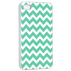 Chevron Pattern Gifts Apple iPhone 4/4s Seamless Case (White)