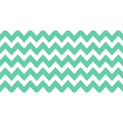 Chevron Pattern Gifts You Are Invited 3d Greeting Card (8x4)