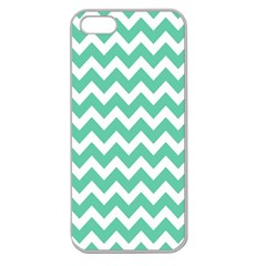 Chevron Pattern Gifts Apple Seamless Iphone 5 Case (clear)
