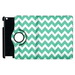 Chevron Pattern Gifts Apple Ipad 2 Flip 360 Case