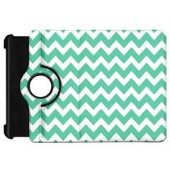 Chevron Pattern Gifts Kindle Fire HD Flip 360 Case