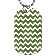 Chevron Pattern Gifts Dog Tag (One Side)