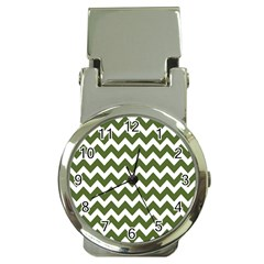 Chevron Pattern Gifts Money Clip Watches
