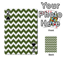 Chevron Pattern Gifts Playing Cards 54 Designs