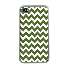 Chevron Pattern Gifts Apple iPhone 4 Case (Clear)
