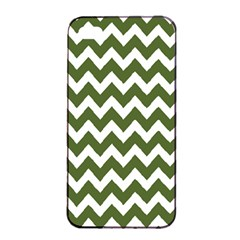 Chevron Pattern Gifts Apple Iphone 4/4s Seamless Case (black)