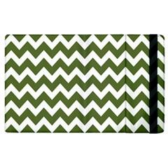 Chevron Pattern Gifts Apple iPad 3/4 Flip Case