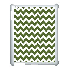 Chevron Pattern Gifts Apple iPad 3/4 Case (White)