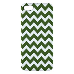 Chevron Pattern Gifts iPhone 5S Premium Hardshell Case