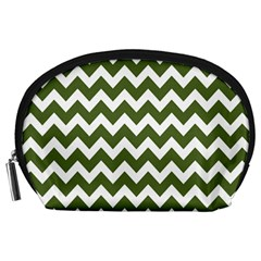 Chevron Pattern Gifts Accessory Pouches (Large)